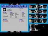 Exodus: Ultima III Macintosh Checking character stats (LairWare version).