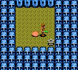 Dragon Crystal Game Gear Random location with strange heads