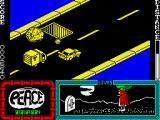Agent X ZX Spectrum Pushing a car into an obstacle
