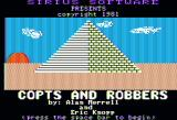Copts & Robbers Apple II Title screen