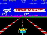 Pole Position ZX Spectrum Prepare to qualify!