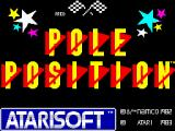 Pole Position ZX Spectrum Title screen (another version)