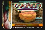 ".hack//INFECTION - Part 1 PlayStation 2 ""The World"" login Screen"