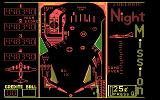 Night Mission Pinball (v3.0) DOS Here's the game in the 2nd CGA RGB color set.