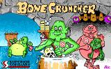 Bone Cruncher Amiga Loading screen.