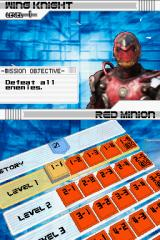 Kamen Rider: Dragon Knight Nintendo DS Ventara Mode - Clear the missions by fighting enemies in the story ... Level 1-1. Mission objective.