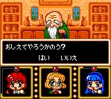 Magic Knight Rayearth Game Gear Talking to an old man