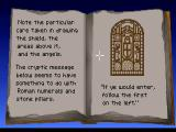 Indiana Jones and the Last Crusade: The Graphic Adventure Windows Consulting your father's grail diary will become a regular thing on your quest for the Holy Grail