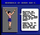 "Menace Beach NES Her clothes ""rot"" off her as the game goes on."