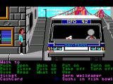 Zak McKracken and the Alien Mindbenders Windows Bus driver is asleep... however will I wake him up (GOG release, Floppy version)