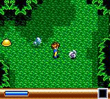 Sylvan Tale Game Gear Forest area