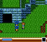 Sylvan Tale Game Gear Fighting some plants