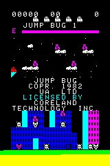 Jump Bug Arcadia 2001 Title screen