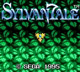 Sylvan Tale Game Gear Title screen