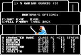 Wizardry: Legacy of Llylgamyn - The Third Scenario Apple II Combat