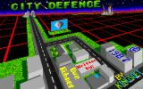 City Defence Amiga Title screen.