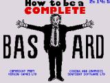How to be a Complete Bastard ZX Spectrum Loading Screen