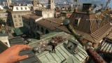 Dying Light: Enhanced Edition Windows Death from above in Old Town or Project 0, the second city you get to visit halfway the game.