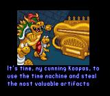 Mario's Time Machine SNES Bowser!