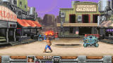 Wild Guns: Reloaded Windows Clint prepares his lasso, used to stun enemies.