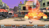 Wild Guns: Reloaded Windows Bullet (the dog) launches a special attack.
