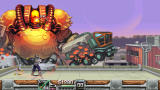 Wild Guns: Reloaded Windows The final boss of the first stage is fought on a rooftop.