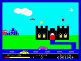 Percy the Potty Pigeon ZX Spectrum Long distances require rest.