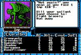 "The Bard's Tale III: Thief of Fate Apple II ""Not again!"". One Imp."