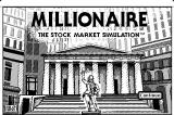 Millionaire: The Stock Market Simulation Macintosh Title screen