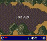 Xak: The Art of Visual Stage SNES Killed by stepping into a poisonous swamp