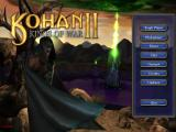 Kohan II: Kings of War Windows Main menu