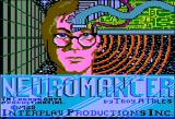 Neuromancer Apple II Title screen