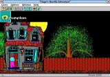 Hugo's House of Horrors Windows 3.x Opening the inventory increases the size of the window