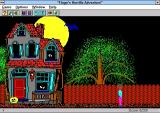 Hugo's House of Horrors Windows 3.x The game starts here with a typical point and click interface. The game plays in a non-resizable window. There is no full screen option