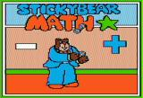 Stickybear Math Apple II Title screen 1