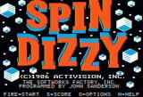Spindizzy Apple II Title screen
