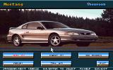 Ford Simulator 5.0 DOS Main Menu - Mustang