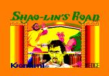 Shao Lin's Road Amstrad CPC Loading screen