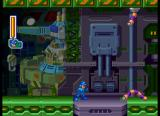 Mega Man 8: Anniversary Edition SEGA Saturn Couple of enemies just... worming... their way through.