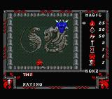 Druid MSX Room with monster