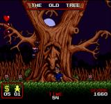 The Addams Family Arcade The Old Tree