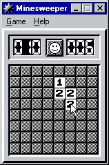 Microsoft Windows 95 (included games) Windows This game can be played in B&W. (Minesweeper)