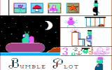 Bumble Plot DOS Title screen (CGA w/Composite Monitor)