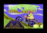 Kikstart: Off-Road Simulator Commodore 128 Loading screen