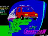 City Connection ZX Spectrum Loading screen.