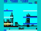 City Connection ZX Spectrum Couldn't stop collision.