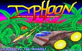 Typhoon Amiga Title screen