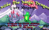 Mike: The Magic Dragon Amiga Loading screen