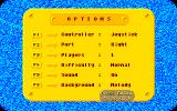 Mike: The Magic Dragon Amiga Menu