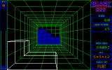 Blockout DOS A game in action (Lo-res EGA/Tandy)